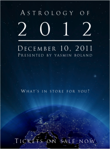 Astrology of 2012 event