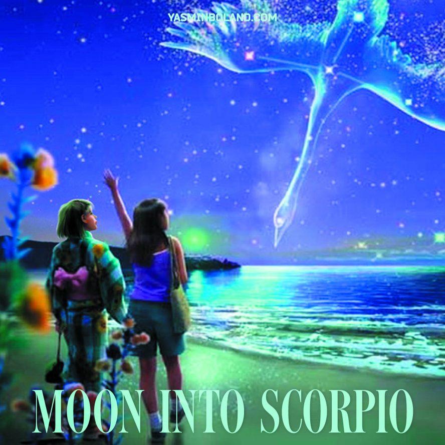Daily Moon into Scorpio