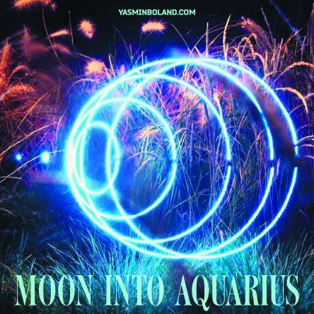 Moon into Aquarius