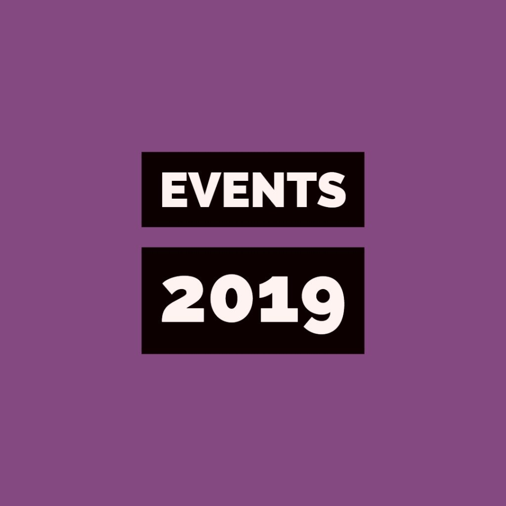 Events in 2019