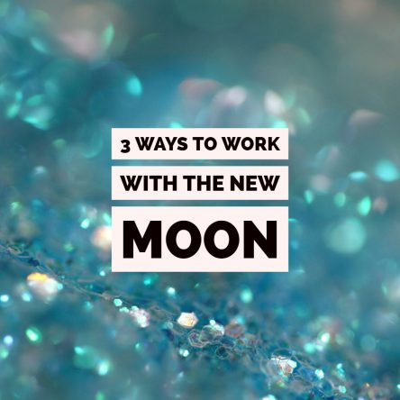 3 ways to work with the New Moon + London workshop