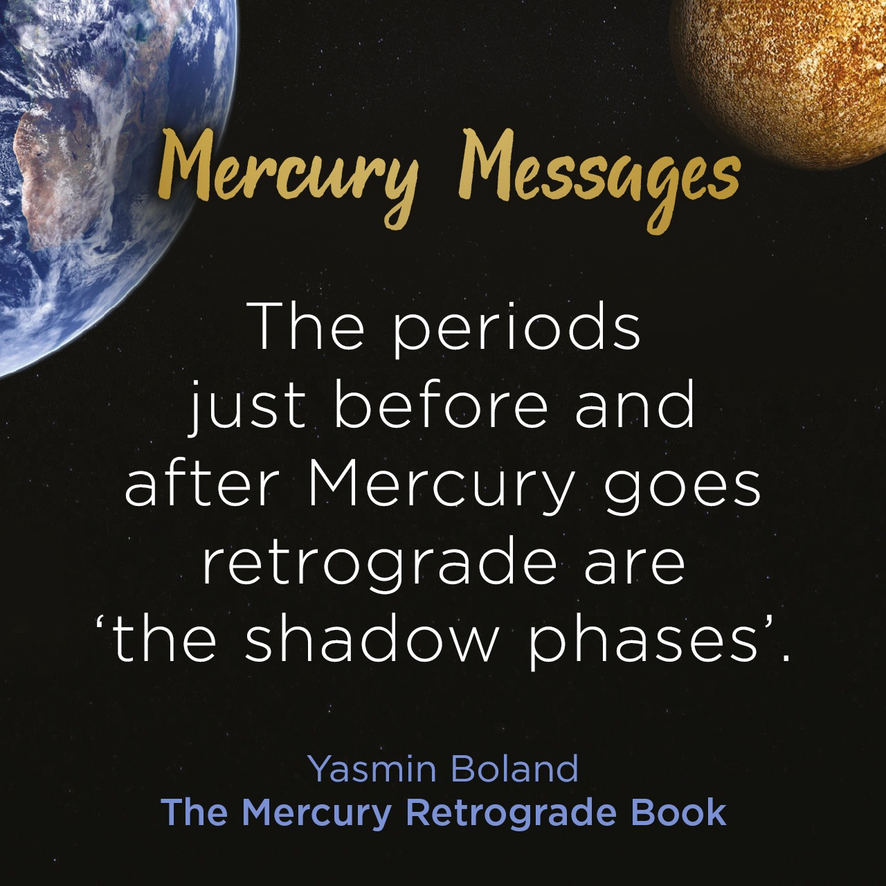 Mercury retrograde ends in 24 hours…