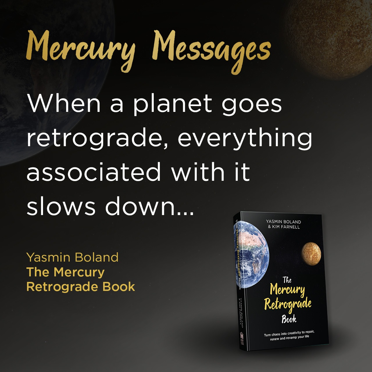 Top 3 ways to prepare for Mercury retrograde…