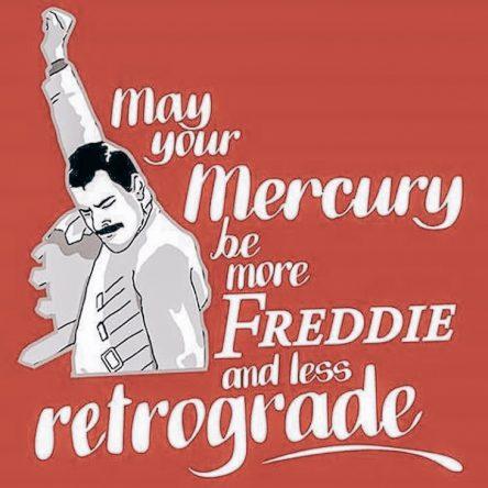 Mercury is now officially retrograde!