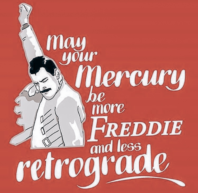 Mercury is now officially retrograde!