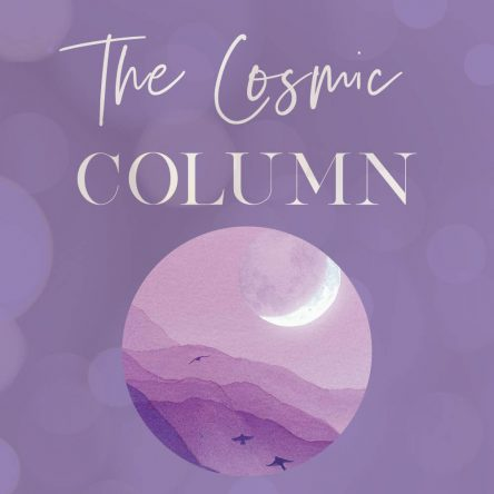 Cosmic column for w/b November 10 2019