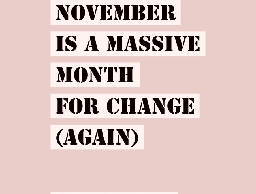 FREE: Your November 2018 Stars