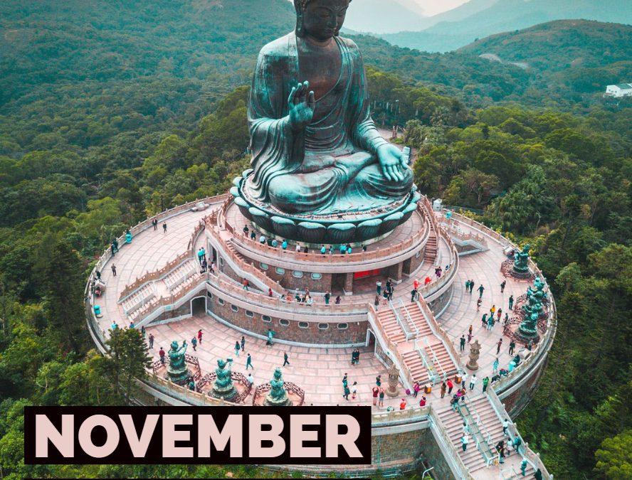 Looking ahead; November will be big!