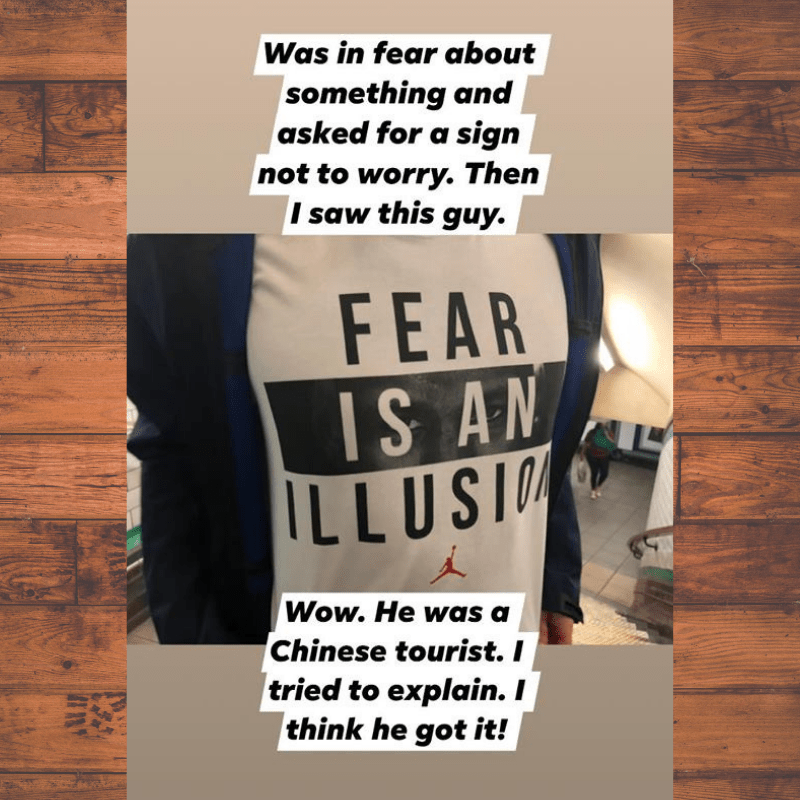 Fear is just an illusion