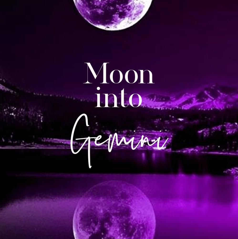 Daily Moon Into Gemini