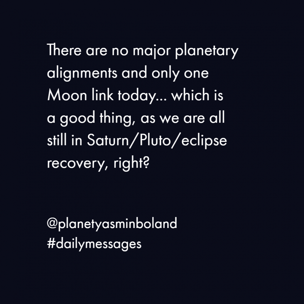 There are no major planetary alignments