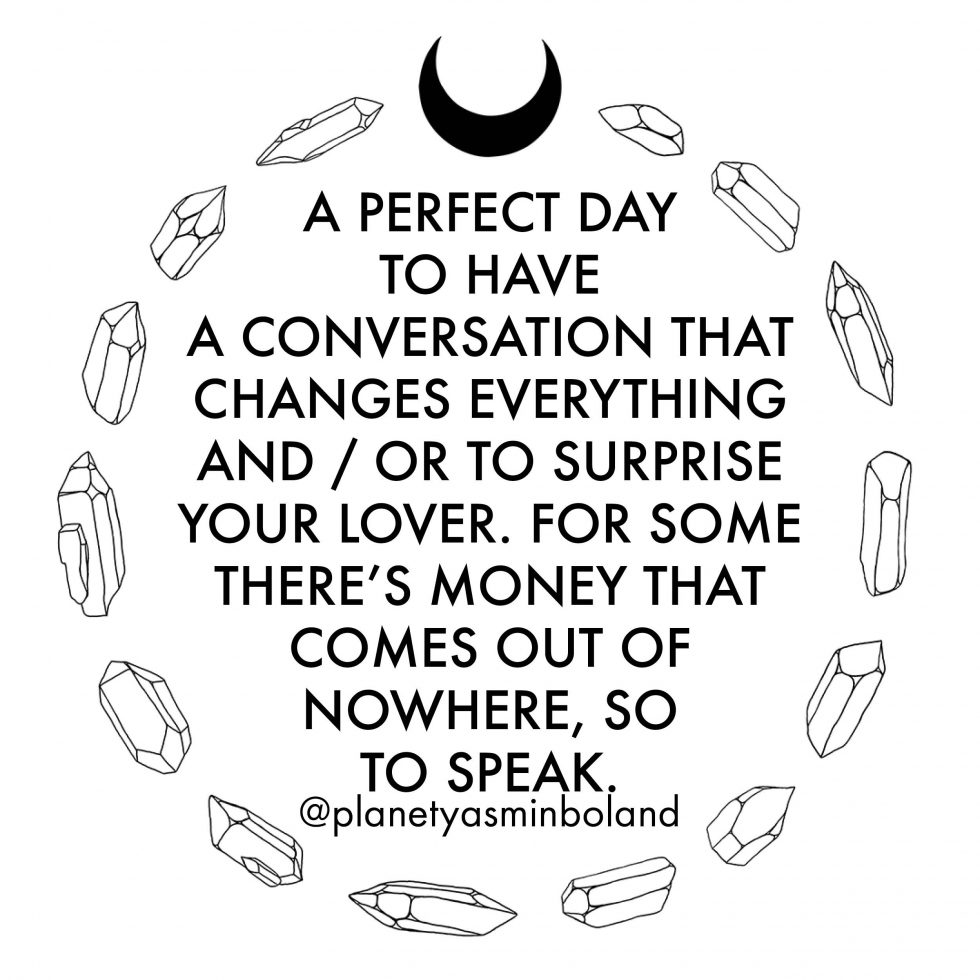 A perfect day to have a conversation