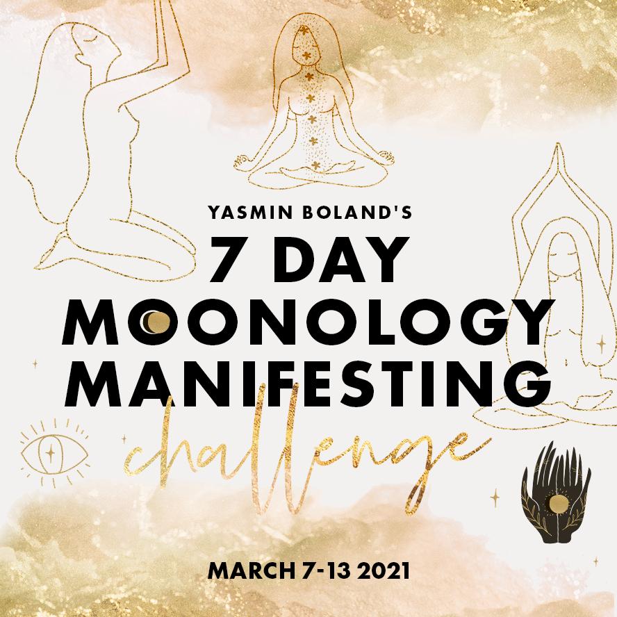 7 Day Moon Manifesting Challenge