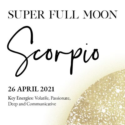 Super Full Moon in Scorpio Ceremony - Side Ad