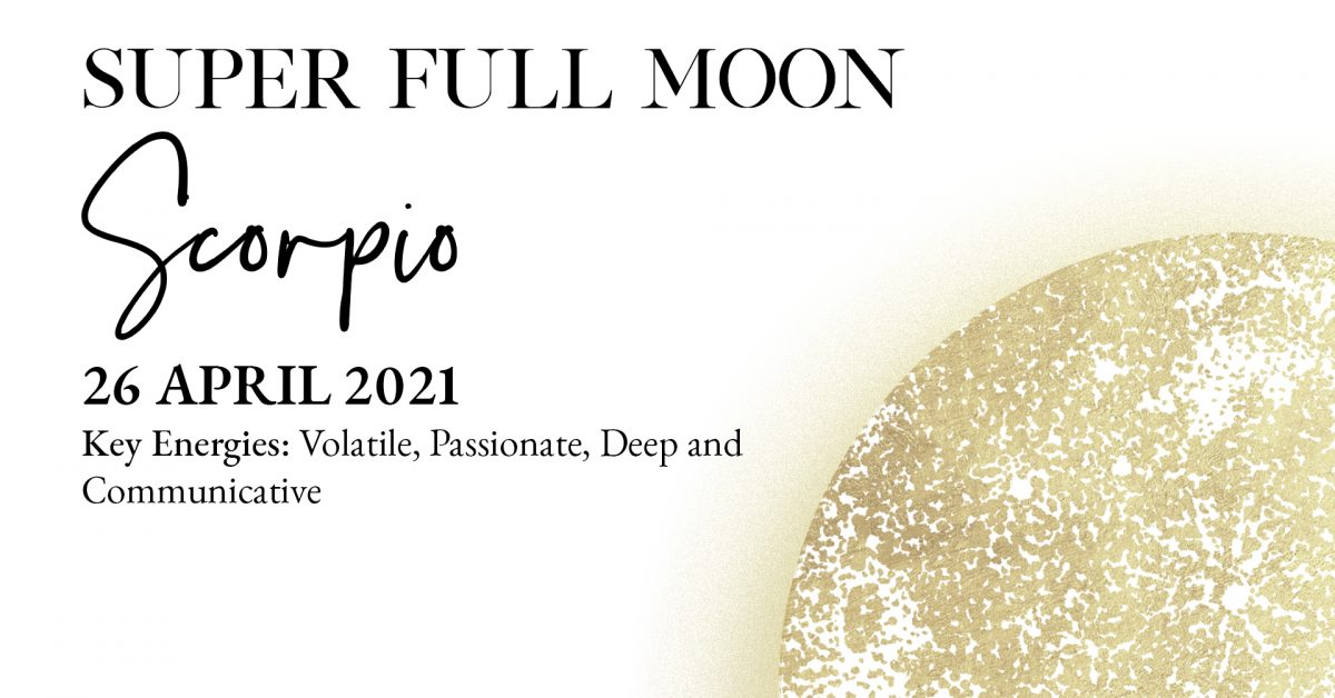 Super Full Moon in Scorpio Ceremony - Below Post Ad
