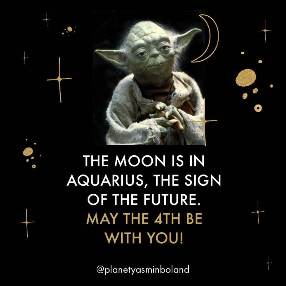 The Moon is in Aquarius