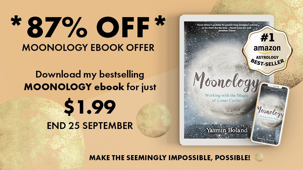 Moonology eBook 87% off - Below Post