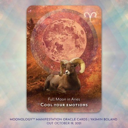 It's an important week for Moon lovers – the Full Moon is coming and it's taking place in the sign of Aries.